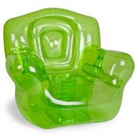 """Inflatable Chair, Green 41""""W x 38""""H x 35""""D"""