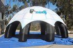 Custom Spider Tent (Full Color Digital Print, 8 Locations) 30'Dia.