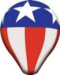 Custom 13'Dia. Helium Hot Air Balloon, White, Full-Digital Imprint