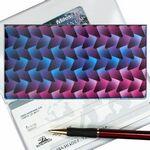Custom 3D Lenticular Checkbook Cover (Pattern)