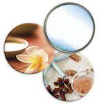 Compact Mirror - Flower/ Sea Star Lenticular Flip Effect (Blank)