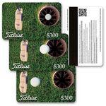 Custom 3D Lenticular Gift Card w/ Animated Golf Putt Images (Custom)