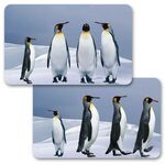 Custom 3D Lenticular Gift Card w/ Animated Penguins Images (Blank)