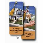 3D Lenticular Magnetic Bookmark - Stock (House)