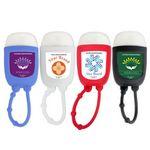 Hand Sanitizer Gel Pocket Bottle w/Silicone Attachment