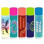 Custom Neon Cap Lip Balm