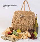 Custom 4 Person Eco Picnic Basket