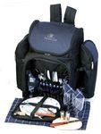 Custom Tandoor Backpack Picnic Set