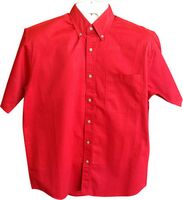 Men's Lightweight Short Sleeve Twill Shirt