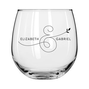 16.75 Oz. Stemless Red Wine Glass
