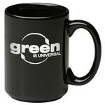 Custom 15 oz. Black Jumbo Mug