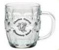 Custom 20 oz. Britannia Glass Mug