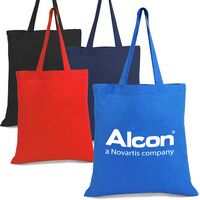 Colored Promotional Cotton Tote Bag