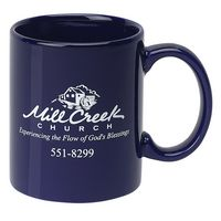 11 Oz. Colored C-Handle Mug