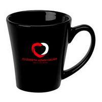 12 Oz. Black Latte Mug