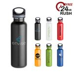 Custom 25 Oz. Ice-Lite Stainless Steel Bottle w/ Carabiner
