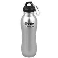 24 Oz. Equinox Stainless Steel Bottle w/Carabiner