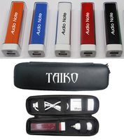 The Associate Power Bank 1800 with Car Adapter and Case
