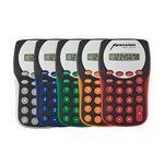 Black Magic Slim Calculator w/Color Easy Grip