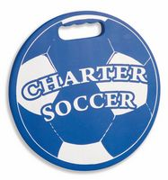 Round Soccer Ball Foam Bleacher Stadium Cushion - USA Made!