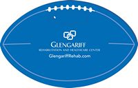 Football Shaped Foam Stadium Seat Cushion - USA Made!
