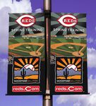 Custom Two-Sided Pole Banner 24