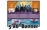Custom Full Color Banner 5'x6' - Vinyl