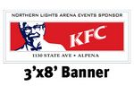 Full Color Banner 3'x8' - Vinyl