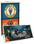 Monsoon Banner Stand w/ 2 Mesh Banners
