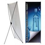 Custom Spring 3 Pop Up Stand, X banner Stand - Small