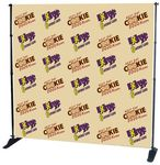 Custom 10'x10' Fabric step and repeat Banner for Pegasus Stand - Banner Only