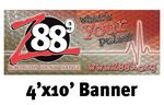 Custom Full Color Banner 4'x10' - Vinyl