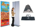 Custom Orient 33 Retractable Banner Stand - 2 Sided