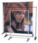 Custom Exhibitor Expanding Pegasus Display Stand w/ 8'x8' Vinyl Banner