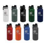 Custom Tempercraft 32 oz Sport Bottle with Sport Lid