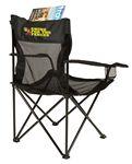 Custom Coleman Mesh Quad Chair - black