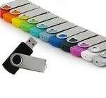 Custom 1 GB USB Swivel 700 Series