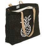 Custom Jute Tote Bag (17.75
