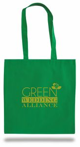 Non Woven Convention Bag w/ 26 Shoulder Strap - 1 Color (15x16)