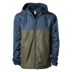 Independent Trading Co. Unisex Lightweight Windbreaker Jacket
