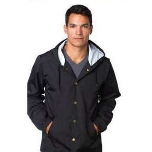 Independent Trading Co. Unisex Water Resistant Windbreaker