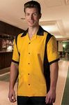 Custom Men's Hilton Bowling Retro Cruiser Bowling Shirt