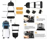 Custom iBank(R)Luggage Bag Bungee Strap