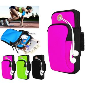 iBank® Sports Running Arm Band Bag Case for Smartphones (Pink)