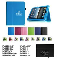 """iBank(TM) 2017 iPad Pro 10.5"""" Leatherette Stand Case (Blue)"""