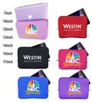 Custom iBank(R) Neoprene Sleeve Zippered Case for 15
