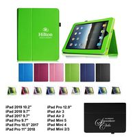 """iBank(R) 2018/2017 iPad 9.7"""" Leatherette Stand Case (Green)"""