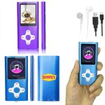 iBank(R) MP3/MP4 Video Music Player with 16G Memory / Voice Recorder (Purple)