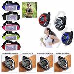 Custom iBank(R) Running Belt, Sport Waist Pouch + Heart Rate Monitor Watch