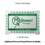 Custom Aluminum Wet Film Gauge (3.25